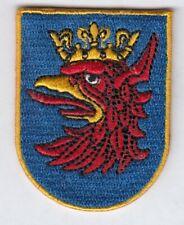 Stettin Stadt  Wappen Coat of Arms Patch,Aufnäher,Aufbügler Szczecin,Polen,Poska