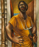 Charles White : Our Land : 1951 : Archival Quality Art Print