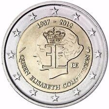 Belgique 2 euro pièce Queen Elisabeth musique concurrence 2012 pièce commémorative banque