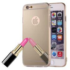 Apple IPHONE 6 / 6s Plus Funda de Móvil Espejo Elegante Schutz-Cover Oro