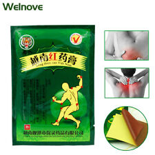 64Pcs Red Tiger Balm Treatment Plaster Shoulder Muscle Joint Pain Stiff Patch