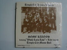 "TEMPLE CITY KAZOO ORCH. Some Kazoos ""Whole Lotta Love"" LP SEALED RHINO Led Zep"