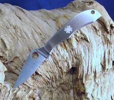 Spyderco Honeybee Slipit Folding Pocket Knife C137P Keychain Gift Plain Edge