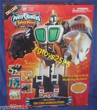 Power Rangers Wild Force Deluxe KONGAZORD Megazord New Factory Sealed 2002