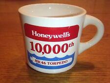 VTG Honeywell Coffee Mug 1981 MK 46 Torpedo 10000 Made Defense Military