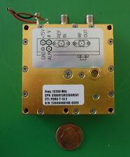 Herley CTI phase locked PDRO precision oscillator 13200 MHz, 13.2 GHz, tested