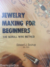 Jewelry Making for Beginners by Edward J. Soukup Scroll Wire Method How-To Book