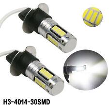 CREE H3 LED Fog Light Bulbs Conversion Kit Super Bright Canbus 6000K White 100W