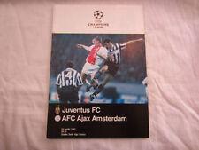 Juventus FC Teams F-K Champions League Football Programmes
