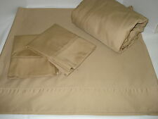 Home Reflections  Queen sheet set 800 TC  Taupe