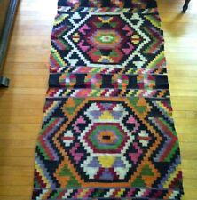 Old Estate Antique Hand Woven Carpet Rug Tribal Horse Blanket Rug