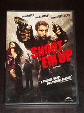 DVD movie, Shoot 'Em Up, Clive Owen, Monica Bellucci, Paul Giamatti, RARE