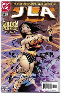 JLA 62 Signed Nguyen Justice League Wonder Woman Superman Flash