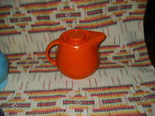 """RADIOACTIVE RED""   FIESTA KITCHEN KRAFT MEDIUM COVERED JUG & LID -FIESTAWARE"