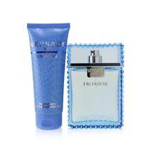 NEW Versace Eau Fraiche Coffret: EDT Spray 100ml/3.4oz + Perfumed Bath & Shower