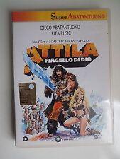 DVD - ATTILA FLAGELLO DI DIO - CASTELLANO & PIPOLO - ABATANTUONO 1982 -  A8