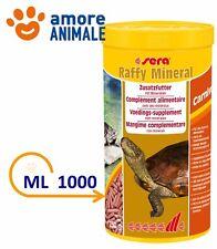 Sera Raffy Mineral - 1000  ml - Mangime completo in Sticks per Tartarughe