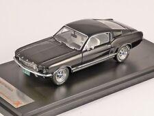 Ford Mustang GT Fastback 1967 Black 1:43 Premium X