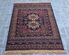 4'8 x 5'11 Fine quality hand woven afghan maliki wool kilim rug, Best tribal rug