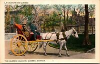Lot of 7 : QUEBEC CANADA VINTAGE UNPOSTED CARTE POST GREAT COLORS! Postcards