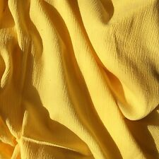 Bright Yellow Baby Muslin Swaddling Blanket-Light & Airy- XL 44 X44 room to grow