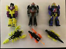 Vintage G1 Transformers Action Masters Lot Devastator, Treadshot, Krok