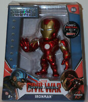 "JADA TOYS METALS DIE-CAST MARVEL CAPTAIN AMERICA: CIVIL WAR ""IRON MAN"" FIGURE"