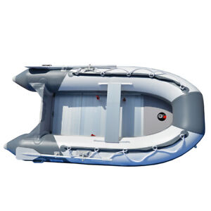 2.5M Inflatable Boat Inflatable Dinghy Yacht Tender Raft With Aluminum Floor