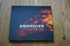 Agonoize - Ultraviolent Six CD Digipak Limited Edition Limitiert RAR RARE OOP