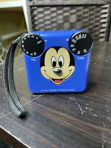 Vintage Disney Radio Shack Mickey Mouse AM Radio