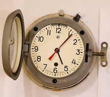 1980's Vintage USSR (Soviet) submarine navy marine ship wall clock