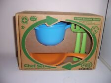 Green Toys Chef Set pots and pans