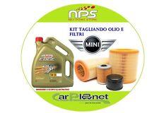 Kit TAGLIANDO Olio e filtri per MINI COOPER (R56)1.6D 80KW/109CV DAL 2007