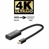 Thunderbolt Mini Display Port DP to HDMI Adapter Cable 4K for Macbook Pro Air