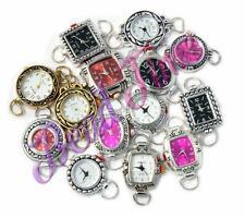 10 Pcs Assorted Beading Watch Faces. Random Color Mixed Lot Geneva Elite