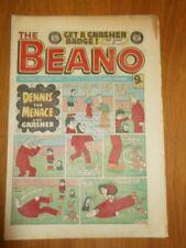 BEANO #2060 9TH JANUARY 1982 BRITISH WEEKLY DC THOMSON COMIC