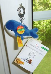 Steiff Schlüsselanhänger Wal