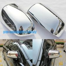 PM Polish Chrome Side Rear View Mirror Cover Trims for Mitsubishi Lancer 08-14