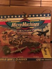 Military Micro Machines World War 2 #20 1995 Classics Die-cast Military New