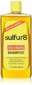 Sulfur8  Deep Cleaning Shampoo For All HAIR Types 340 ml / 11.5 oz