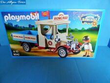Playmobil 9042 Zirkus Roncalli  Truck Oldtimer Lkw 40 Jahre Circus Neu MIB MISB