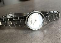 Skagen Women's Watch, Stainless Steel Links- 430SSXD Silver Dial Bin U