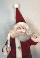 """1992 Telco Animated Santa Claus Motion-ette Lighted Christmas Holiday Figure 16"""""""