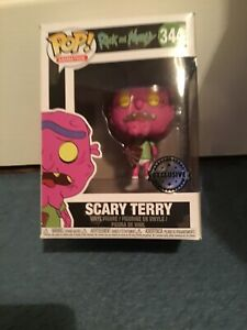 Scary Terry - Rick & Morty Exclusive Funko Pop #344