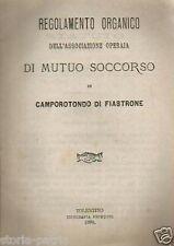MARCHE_CAMPOROTONDO DI FIASTRONE_TOLENTINO_MUTUO SOCCORSO_BOCCI_RAGONI_MAURISI