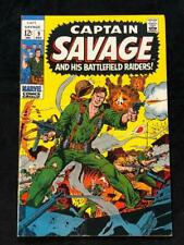 Captain Savage And His Battlefield Raiders #9 Marvel Comics VF+