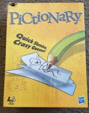 Pictionary TEAMS Board Game 2-4 players Hasbro Parker Brothers QUICK DRAW party