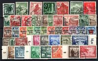 P135669/ GERMANY – YEARS 1936 - 1941 USED SEMI MODERN LOT – CV 150 $