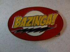 BAZINGA ! Big bang theory TV BELT BUCKLE Collectible great gift