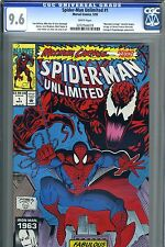 Spider-Man Unlimited # 1 CGC 9.6 NMint. Maximum Carnage Part 1. Venom Carnage.
